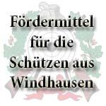 Fördermittel für die Schützen aus Windhausen