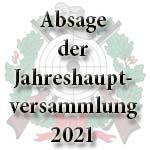 Absage der JHV 2021