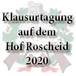 Klausurtagung 2020